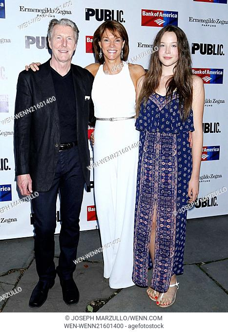 Opening night of 'King Lear' held at the Delacorte Theater - Arrivals Featuring: Byron Jennings,Carolyn McCormick,Ella Beatty Where: New York City, New York