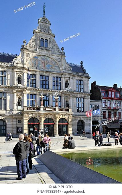 Sint-Baafsplein, Ghent, Scheldeland, Leiestreek, Flanders, Belgium, Europe