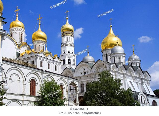 The Annunciation Cathedral Moscow Kremlin, Russia