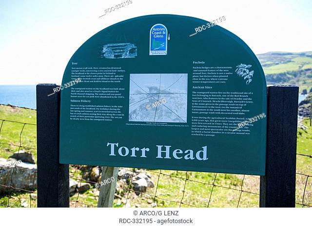 Torr Head, Cushendun, County Antrim, Northern Ireland