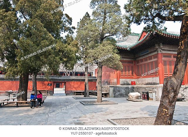 taoist Dongyue Temple in Chaoyang District, Beijing, China