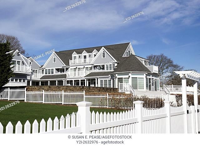 A large home in South Yarmouth, Cape Cod, Massachusetts, United States, North America. Editorial use only