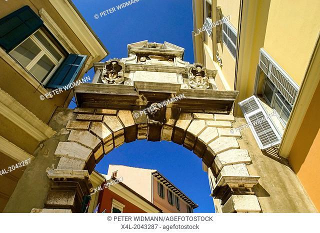 Croatia Istria Rovinj Old Town