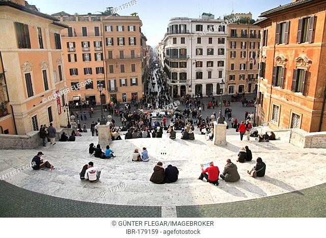 Spanish steps, Piazza di Spagna, Rom, Italy