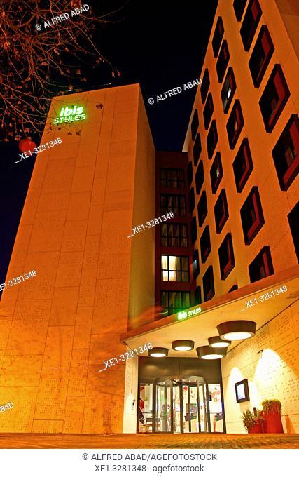 Hotel Ibis, Poble Nou, Barcleona