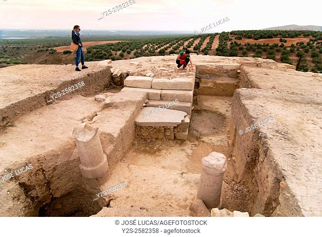 Roman Iberian city of Castulo, Linares, Jaen province, Region of Andalusia, Spain, Europe
