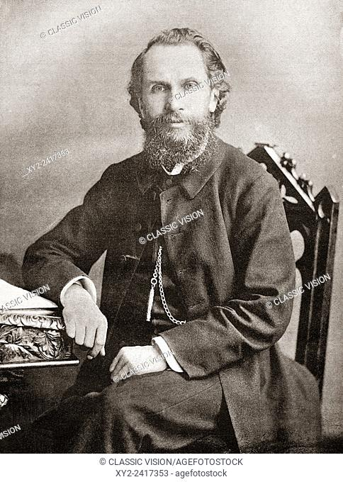 "The Revd Benjamin Waugh, 1839 â. "" 1908. Victorian social reformer and campaigner who founded the UK charity NSPCC. From The Review of Reviews, published 1891"
