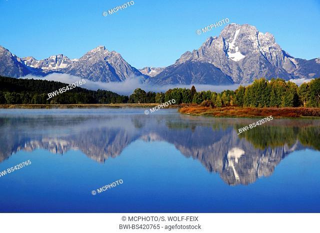 Oxbow Bend, USA, Wyoming, Grand Teton National Park
