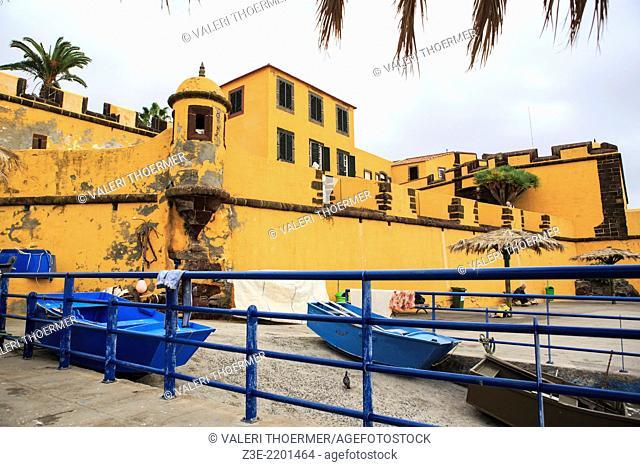 Museu de Arte Contemporânea - Fortaleza de Santiago. Funchal, Madeita Island, Portugal