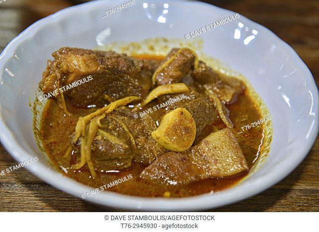 Haeng lay Shan pork curry in Chiang Mai, Thailand