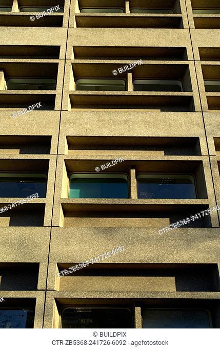 1960s style college, Lewisham, London, UK, 2008