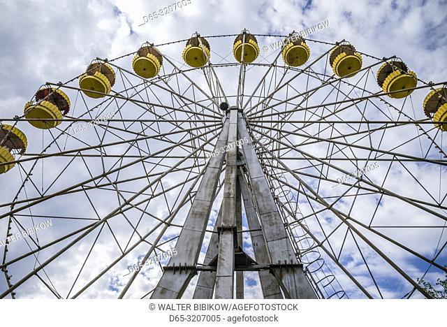 Armenia, Yeghegnadzor, amusement park, ferris wheel