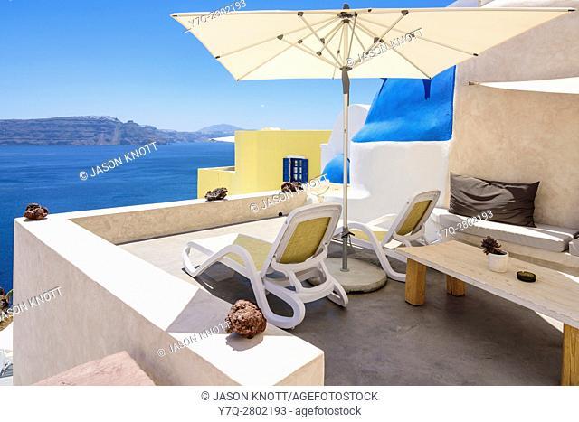 Luxury accommodation in Oia, Santorini, Cyclades, Greece