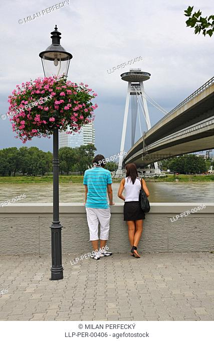 Bratislava Old city, bridge
