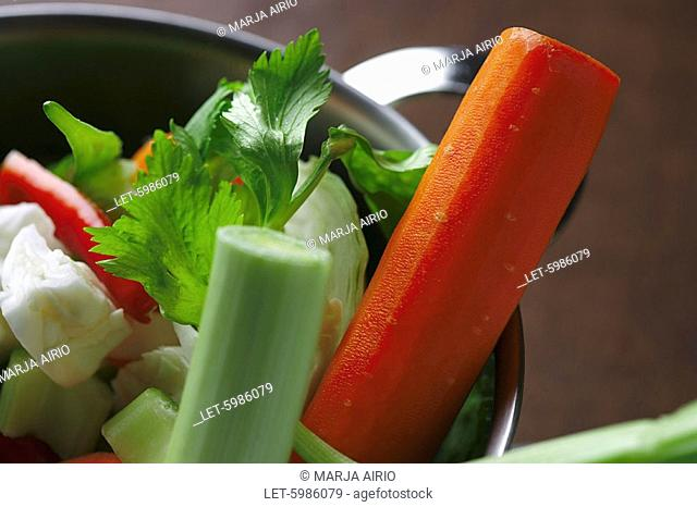 Vegetables  Carrots  cabbage and celery  Finland