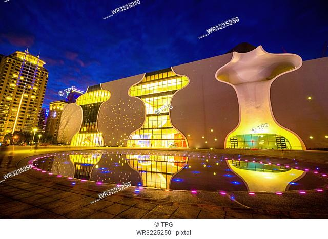 Taiwan;Taichung City;Taichung Opera House;Taichung National Opera;Opera House;Taichung Seventh Rezoning Area