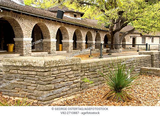 The Pavilion (Civilian Conservation Corps), Garner State Park, Texas