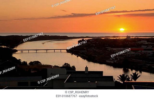 Whanganui River Sundown