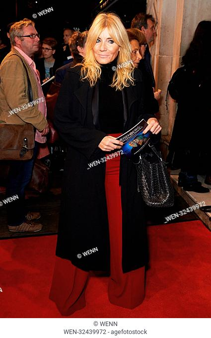 Celebrities arrive at the Wyndham's Theatre for the Heisenberg: The Uncertainty Principle - press night Featuring: Michelle Collins Where: London