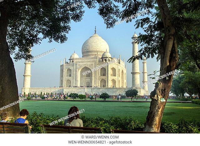 The Taj Mahal in Agra, India Featuring: Taj Mahal Where: Kings Lynn, India When: 10 Oct 2014 Credit: Ward/WENN.com