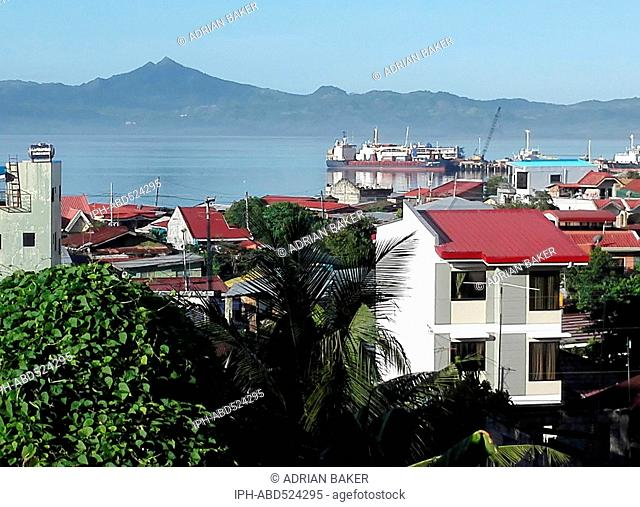 Philippines Leyte Ormoc city General view