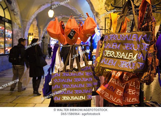 Israel, Jerusalem, Old City, Jewish Quarter Marketplace, NR