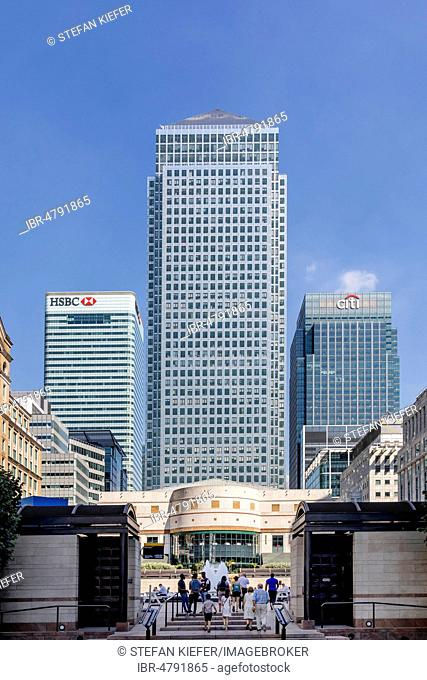 Hsbc headquarters canary wharf Stock Photos and Images | age