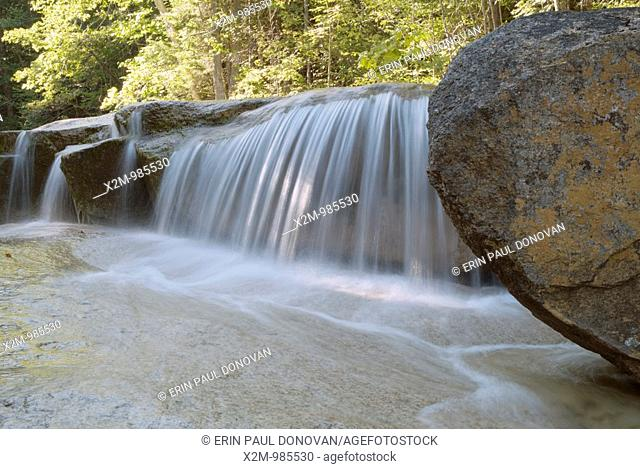 A section of the Swift River near the Sawyer River Trail  Located near the kancamagus Highway route 112 in the White Mountains, New Hampshire, USA