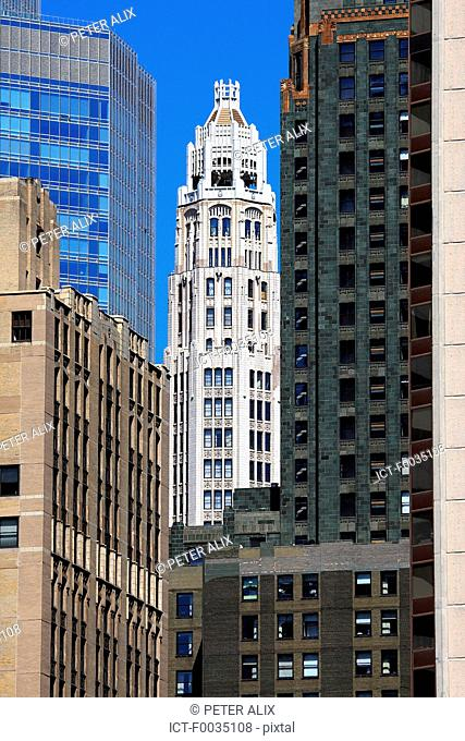 United States, Illinois, Chicago, buildings