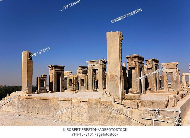 The Palace of Xerxes at Persepolis, Iran