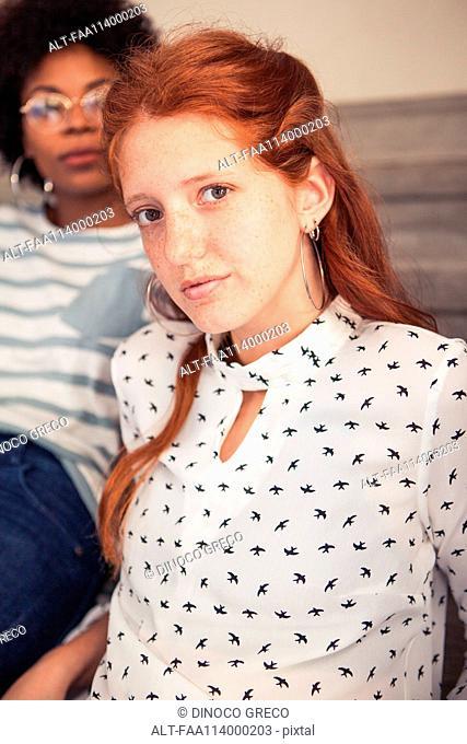 Young woman, portrait
