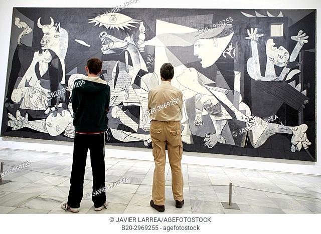 Guernica, 1937, Pablo Picasso, Museo Nacional Centro de Arte Reina Sofia, Madrid, Spain, Europe