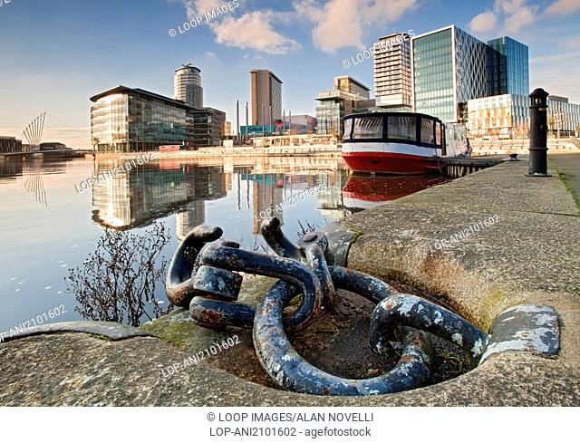 MediaCityUK set in the regenerated area of Salford Quays