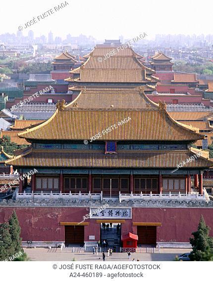 Forbbiden City, Beijing. China