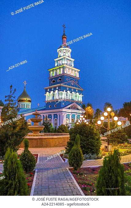 Uzbekistan , Tashkent City, The Orthodox Cathedral