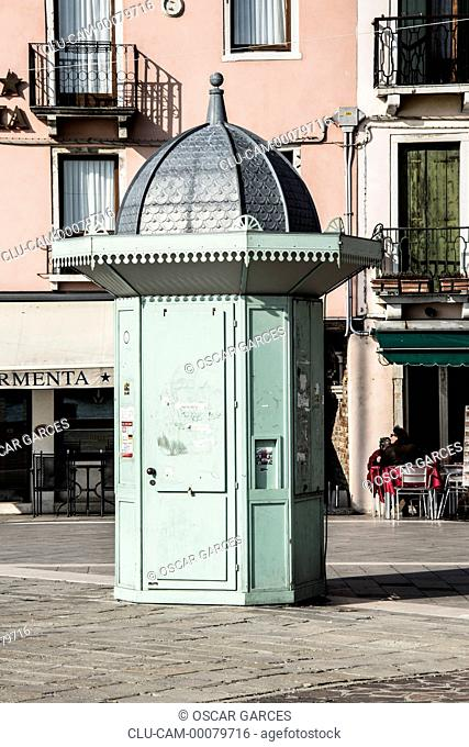 Traditional Architecture, Venice, Veneto, Italy, Western Europe