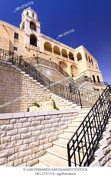 Convent of Our Lady of Seidnayya. Near Damascus, Syria