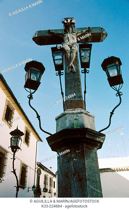 Cristo de los Faroles in Cordoba. Andalusia. Spain