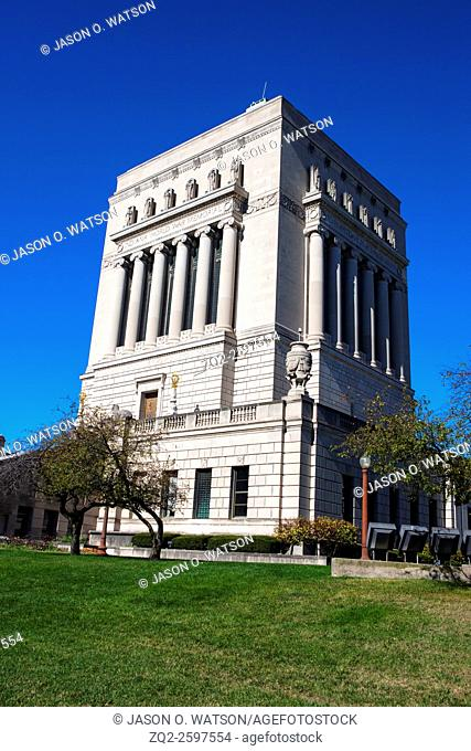 Indiana World War Memorial, Indianapolis, Indiana, United States of America