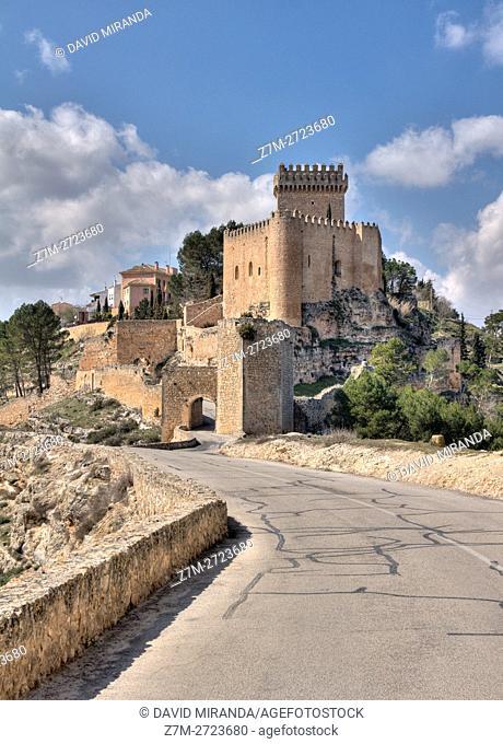 Alarcón Castle, Cuenca province, Castile la Mancha, Spain. Historic and Artistic Heritage