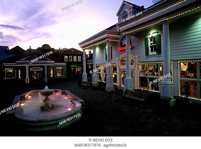 the grand village shops, branson, missouri, usa