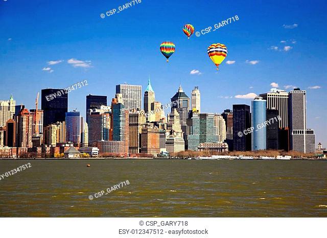 The Lower Manhattan Skyline