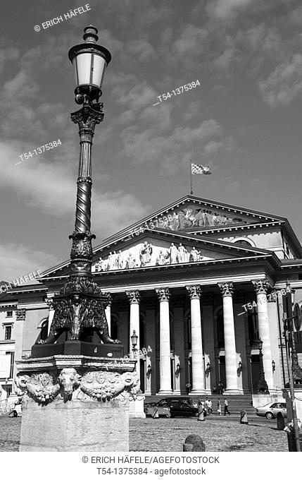 Bavarian State Opera in Munich