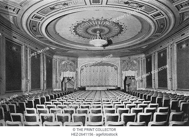 View towards the stage, Cameo Theatre, New York, 1925. Artist: Unknown