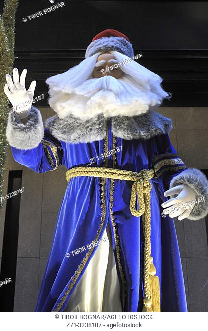 Santa Claus, figure, statue, Christmas;