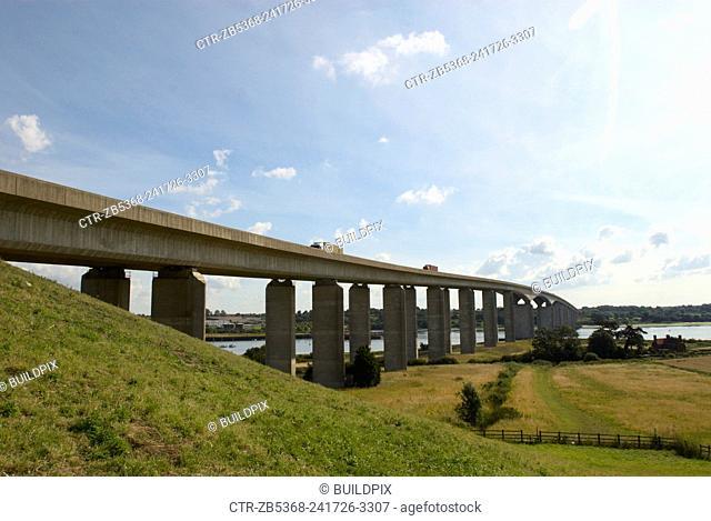 Orwell Bridge, Suffolk, UK