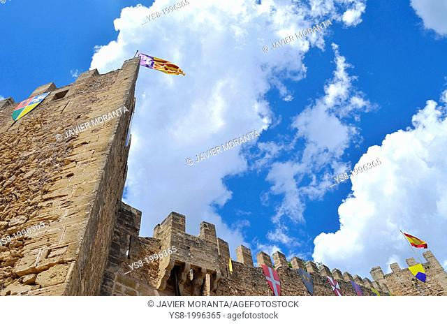 Medieval Castle Capdepera, Mallorca, Balearic Islands, Spain