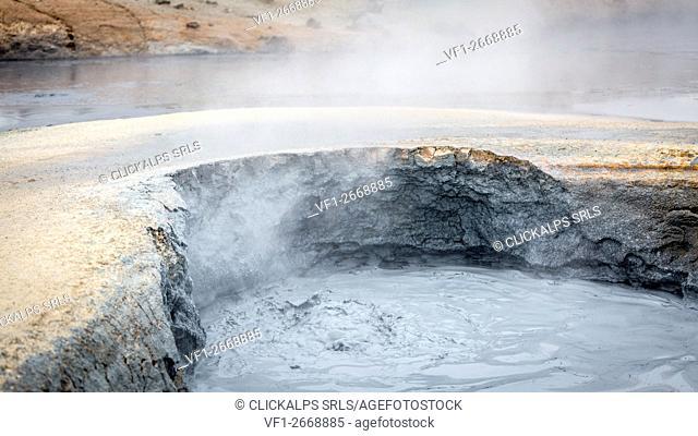 Hverir Geothermal Area, Iceland, Europe