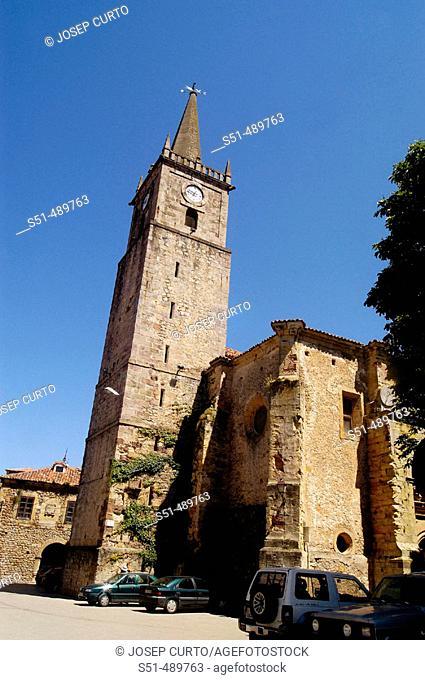 Church. Comillas. Cantabria. Spain