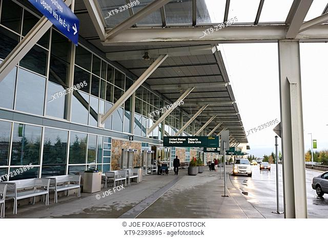 united states international departures Vancouver international airport BC Canada